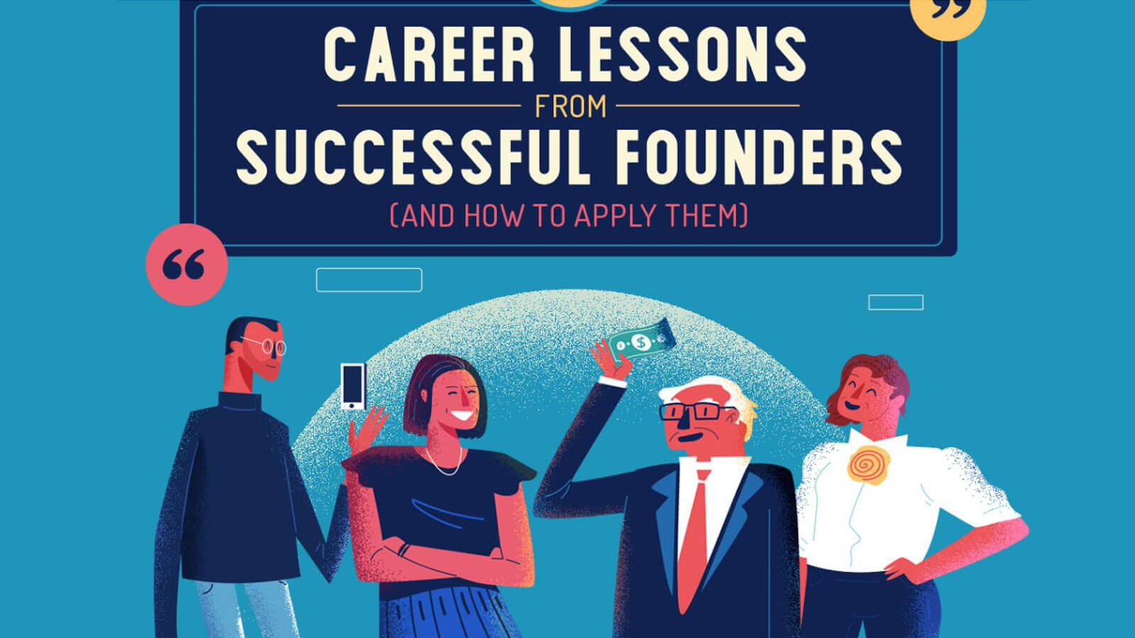 """Featured image for """"Career development lessons from successful leaders"""""""